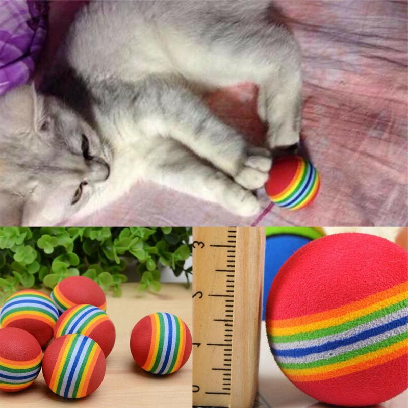 6pcs Soft Rainbow Toys