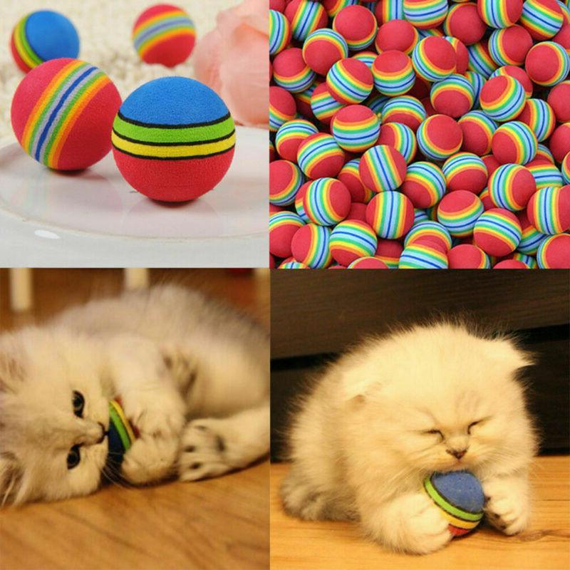 6X Toys Kitten Foam Rainbow Play Colorful Activity Toy