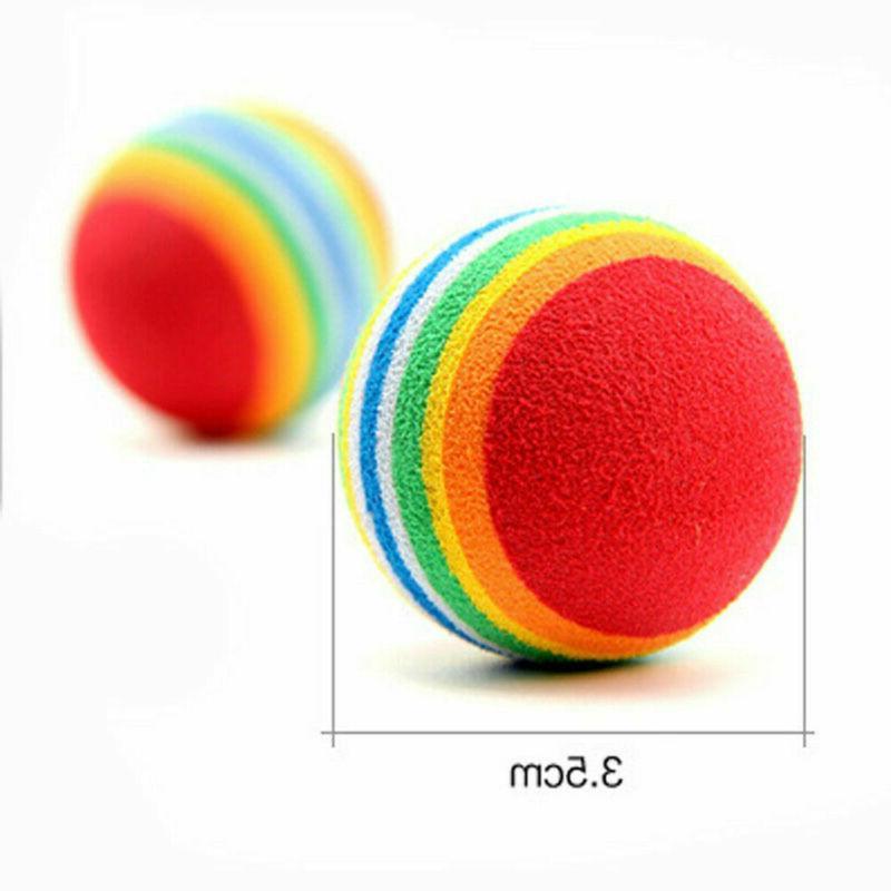 6X Kitten Foam Rainbow Play Colorful Activity Toy