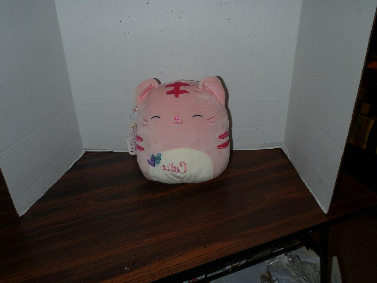 8 paulita the pink cutie cat plush