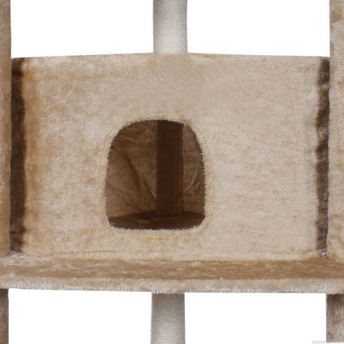 "80"" Cat Tree Condo Furniture Scratch House Paws"