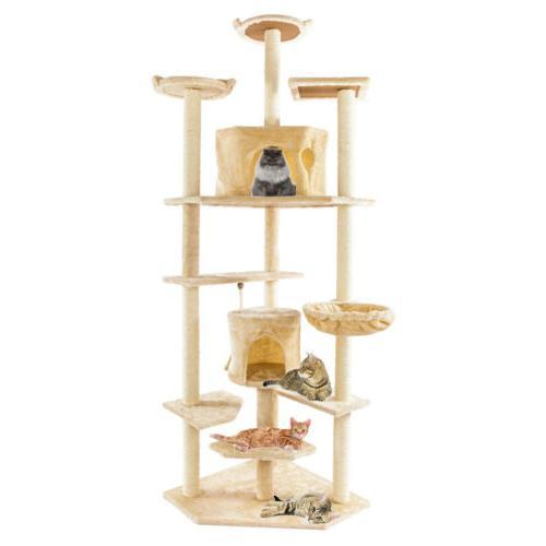 80 cat kitten tree tower post toy