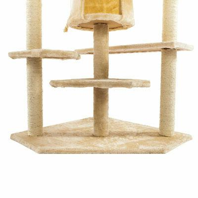 "80"" Cat Tree Condo Post House Toy"