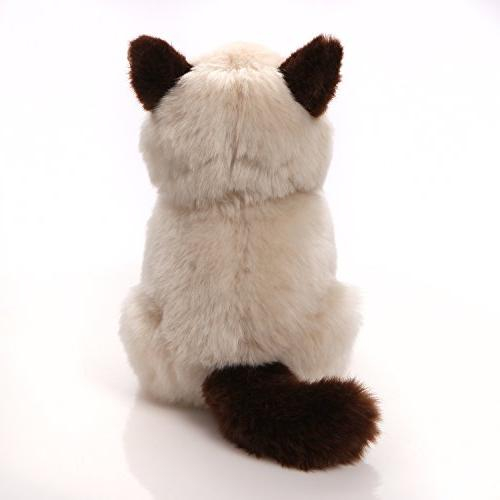 9 Silky Grumpy Cat Stuffed Toy
