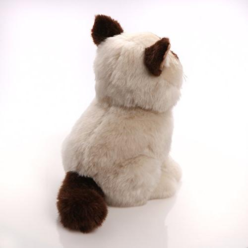 9 Extra Silky Cat Plush Stuffed Toy