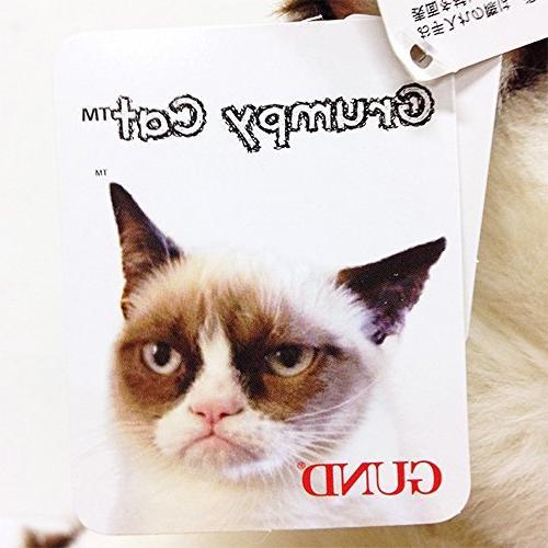 9 Extra Soft Silky Grumpy Cat Stuffed Animal Toy