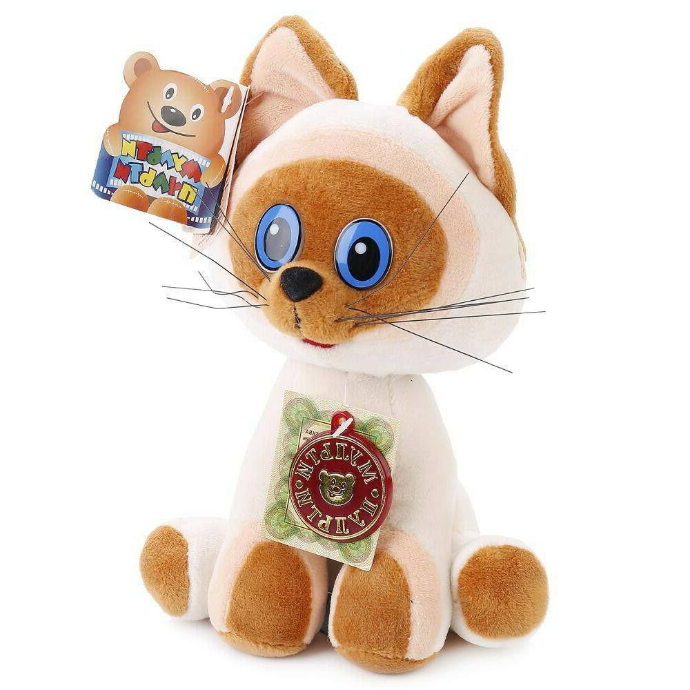 9 russian language talking plush cat stuffed