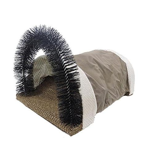 Aolvo Cat Scratcher with Grooming Arch, Cat Sisal Scratch Ca