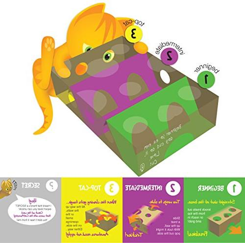 Cat Best Cat Toy Ever! Interactive Treat & Puzzle Feeder Cats