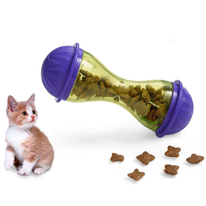 Pet Feeder Cat Food Toy Treats Dispensing Toys Mental Stimul