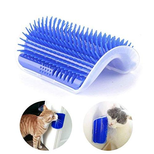 Vintagebee 2 Pack Pet Brush Massage Perfect Tool for Cats wi