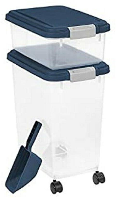 Iris Airtight Pet Food Storage Container Set