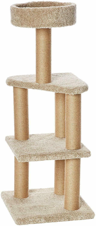 AmazonBasics Cat Activity Tree with Scratching