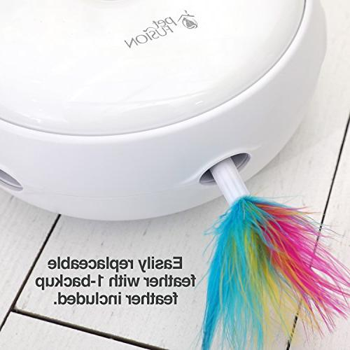 PetFusion Toy with electronic feather.