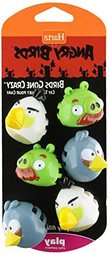 HARTZ Angry Birds Birds Gone Crazy - Cat Toy, Officially Lic