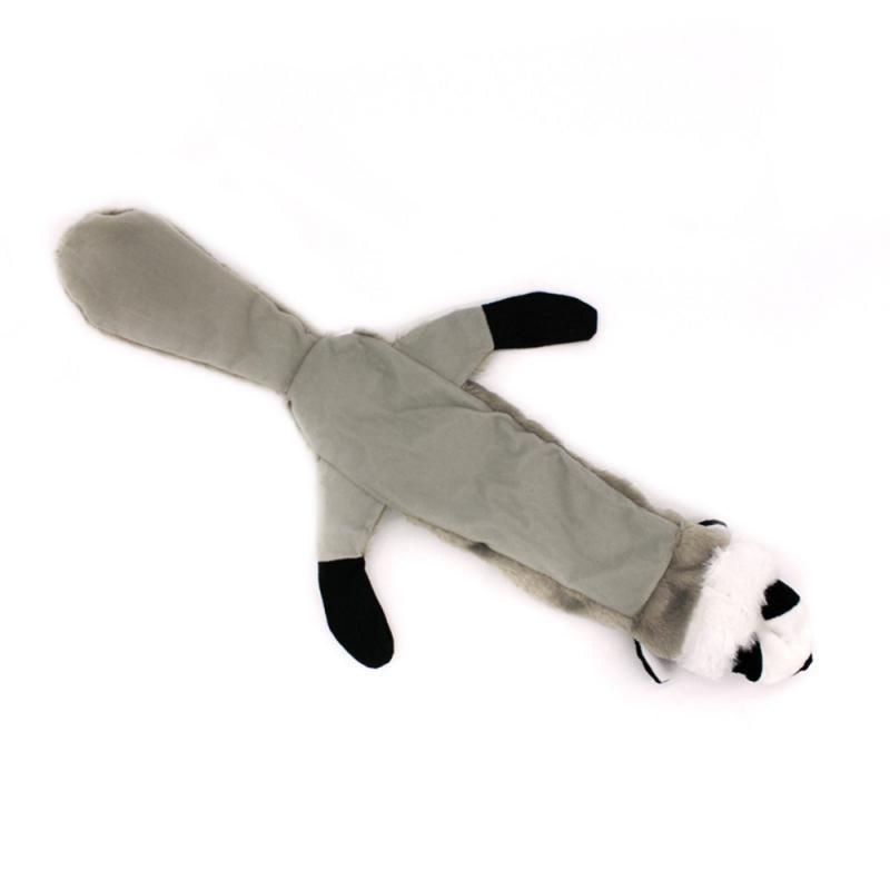 Animal Shape Set Non Stuffed Honking Wolf Raccoon Skunk Squirrel Chew Squeaker <font><b>Cat</b></font> <font><b>Toys</b></font>