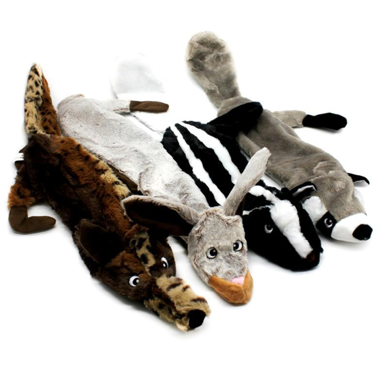 Animal Set <font><b>Large</b></font> Stuffed Honking Squirrel Dogs Squeaker <font><b>Toys</b></font>