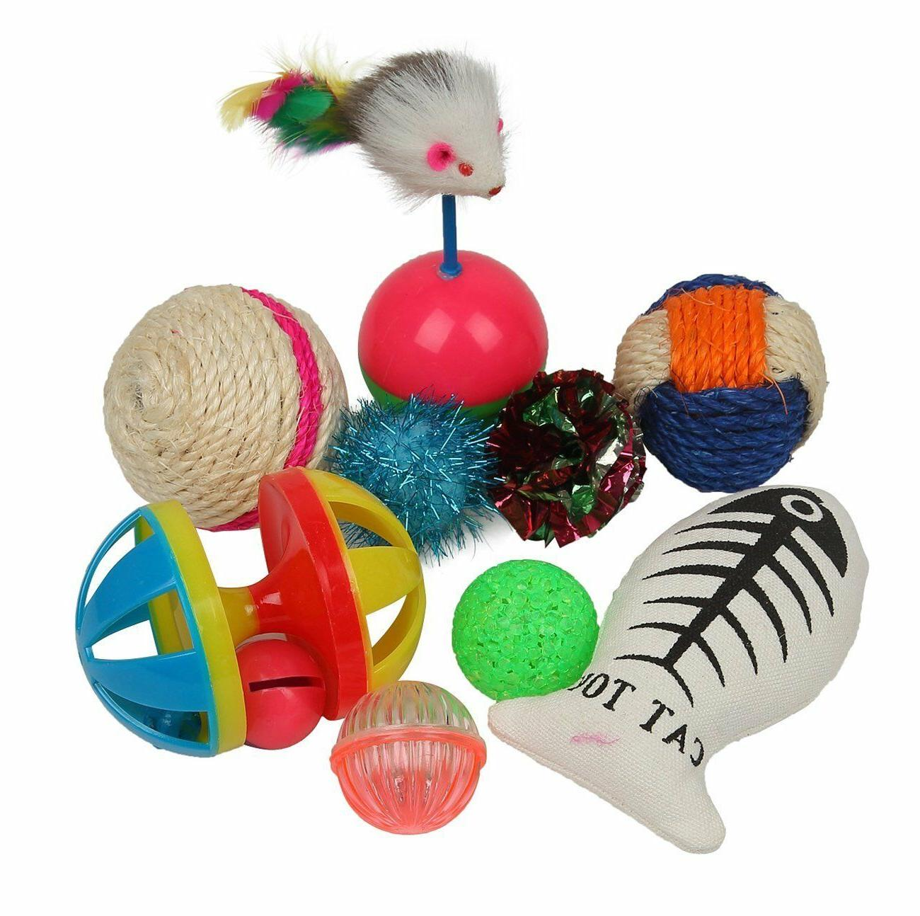 Assorted Cat Toys Pack for 20 PCS BRANDNEW