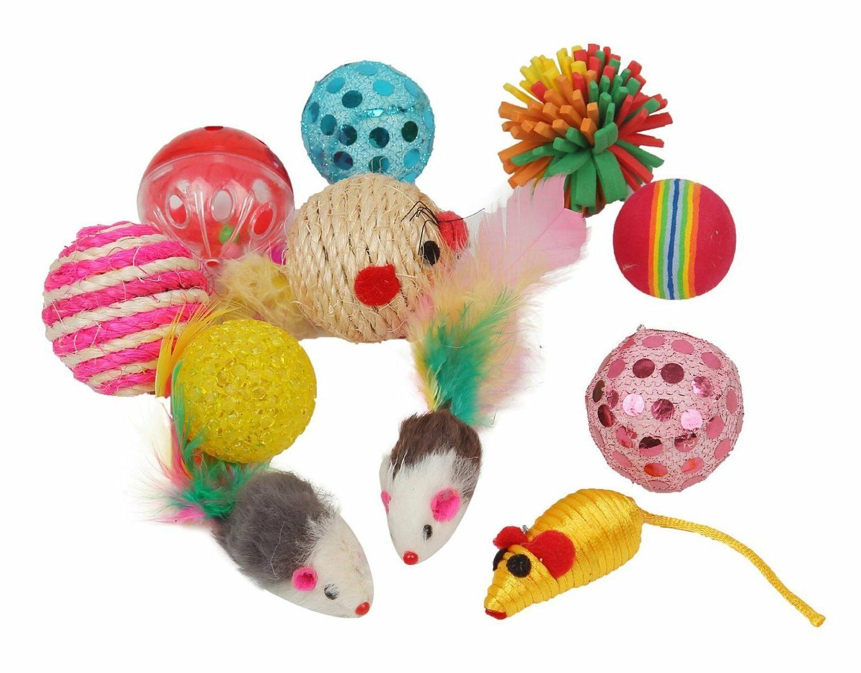Assorted Cat Toys Variety PCS Entertaining BRANDNEW