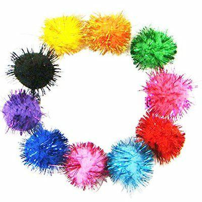 "Rimobul Assorted Color Balls Cat's All Time Favorite 1.5"" 50"