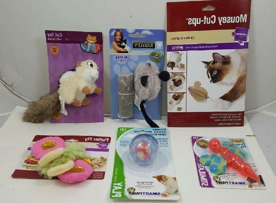 Assorted Fun Cat Toys With All New Selections ~ So Much Pla