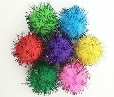 assorted sparkle balls cat favorite