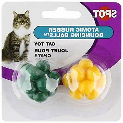 atomic bouncing ball cat toy