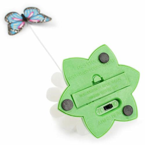 Butterfly Design Cat Play Electric