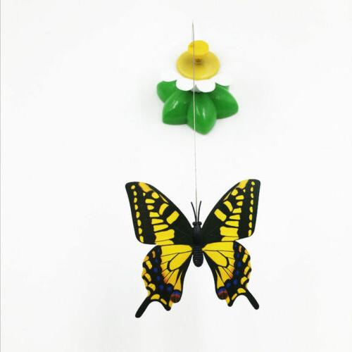 Butterfly Play Electric Rod Funny Pet Kitten Toys