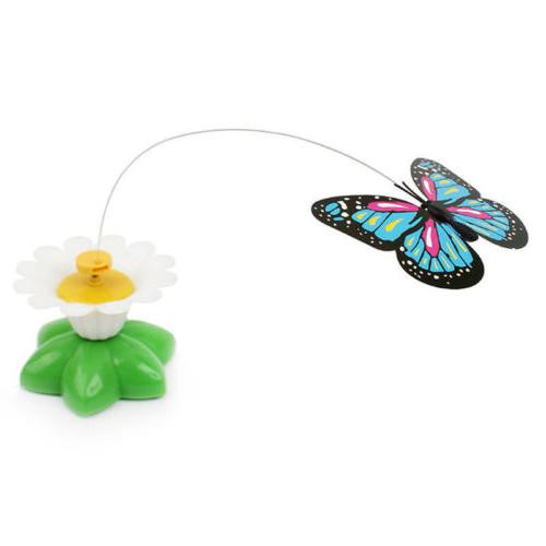 Butterfly Design Cat Play Toy Rod Toys