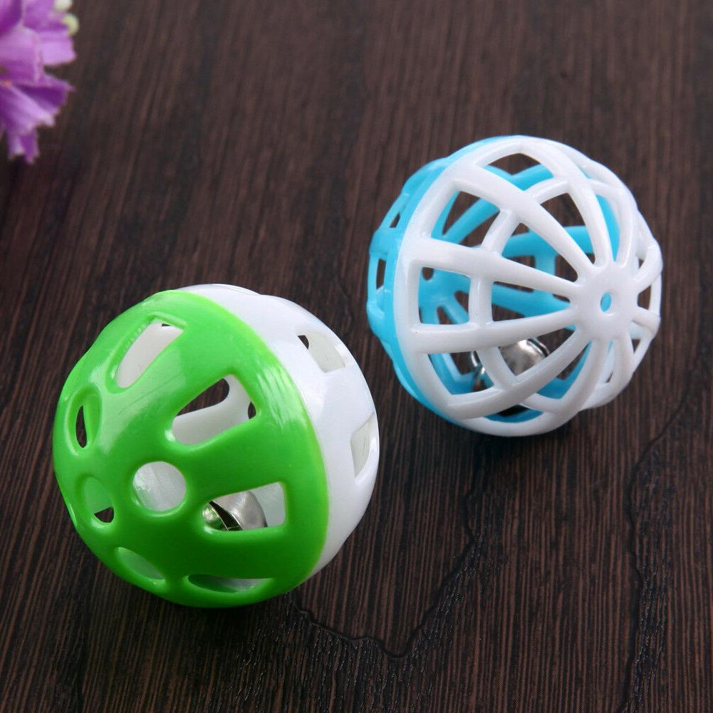 BW#A 10pcs Hollow Out Colorful Ball Toys Small