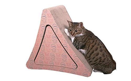 cardboard cat scratch mat