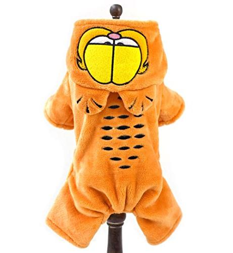cartoon cat warm flannel fleece
