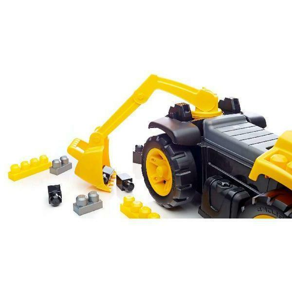 Mega Bloks 3-in-1 Ride-On Toy, 2-Days Delivery