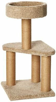cat activity tree with scratching posts medium