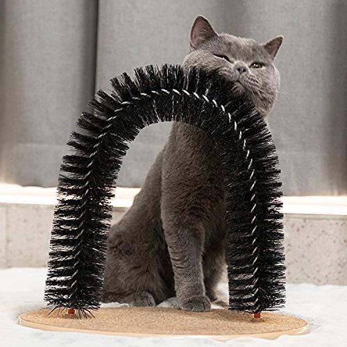 Hollypet Cat Grooming Scratcher Pet Groomer