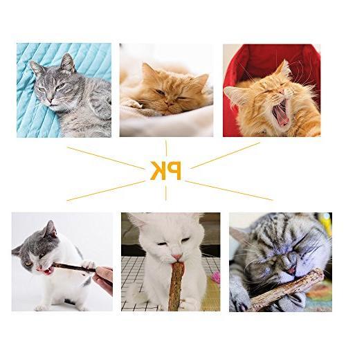 MR-BABULA Cat Toys, 100% Natural Vine/Matatabi Treats Chew Cat, +