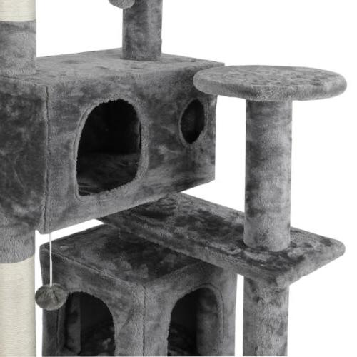 Cat Tree Tower w/Scratching