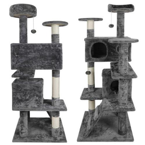 Cat Climbing Tree Tower Post&Toys
