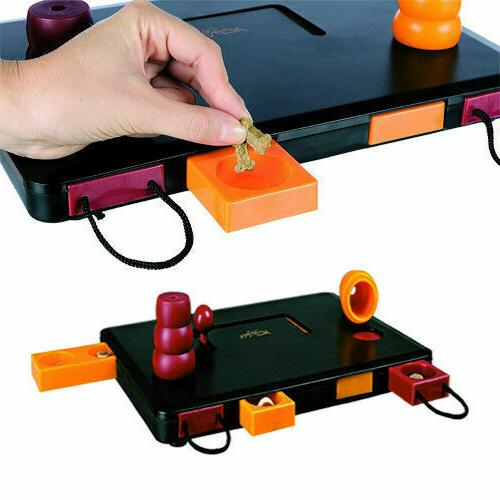 Toy Flip Board Treat Brain Training Toys