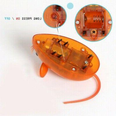 Cat Electric False Mouse Toys Scratch Resistant Battery