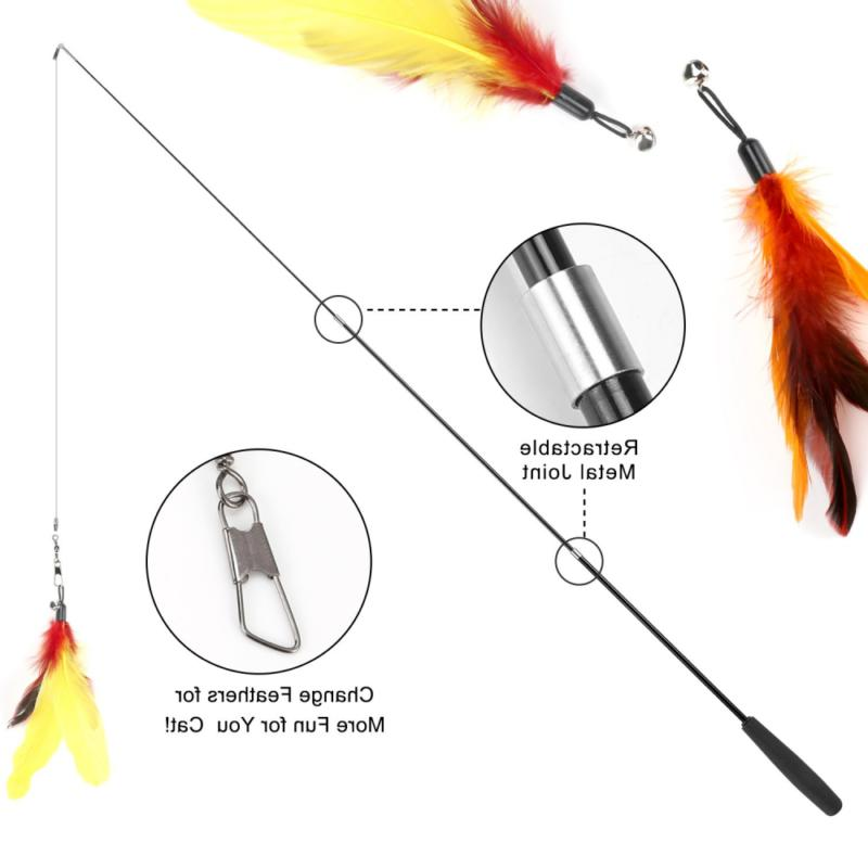 Cat Feather Cat Wand Wands Teaser Refills,