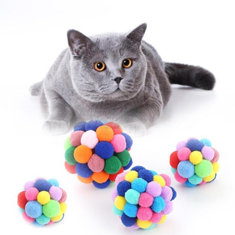 Cat Interactive Pet Toy Supply Ball Built-In Catnip