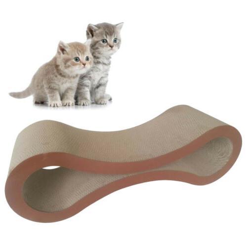 cat kitten corrugated scratch board pad scratcher