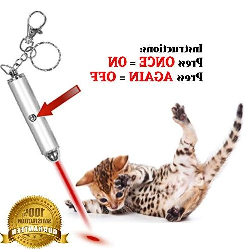 Animmo 2X Pointers Both Tested for Proper Function, On Exercise Tool Fun Cat Dog Toy