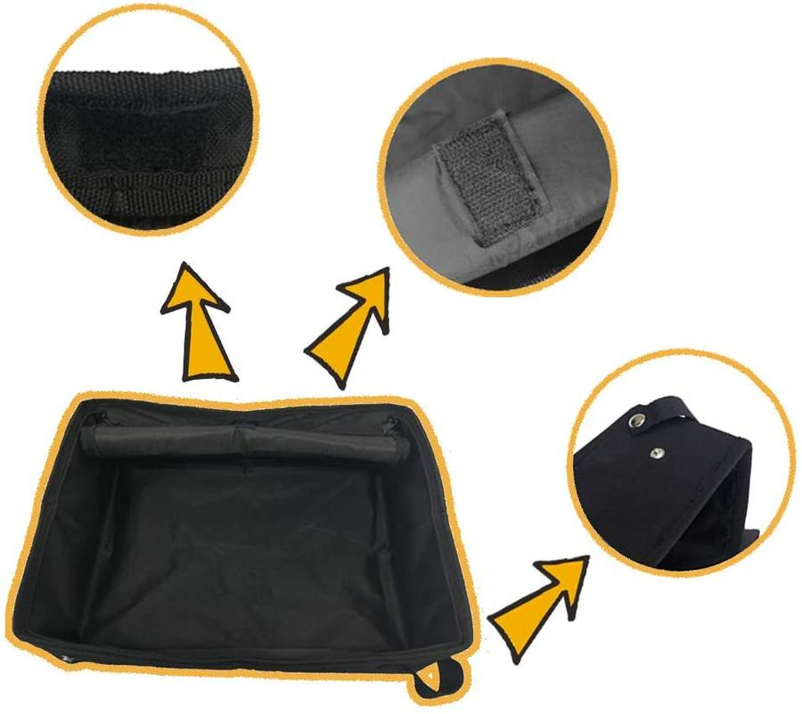 CAT LITTER Foldable Collapsible for Travel PETLEADER