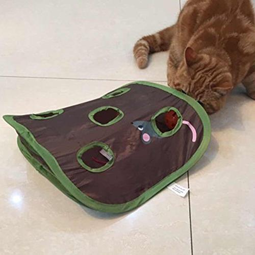 ANG Cat Mice Toy Hide & Pop-up Toy Hunt