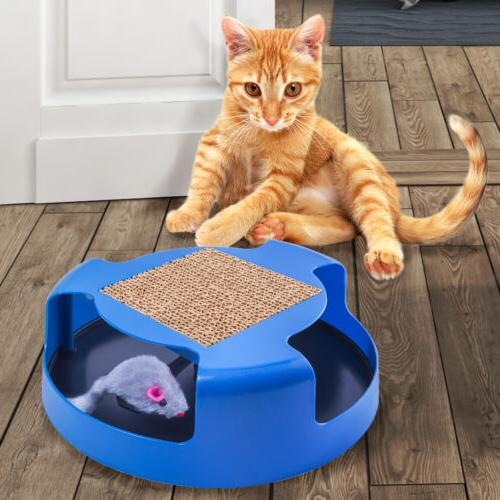 OxGord Cat Toy with Scratching Post