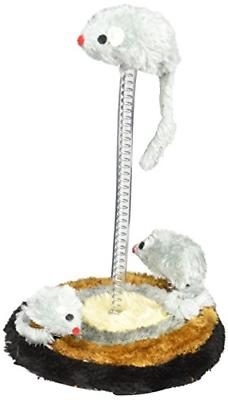 bulk buys Cat Mouse Spring Toy with Furry Base