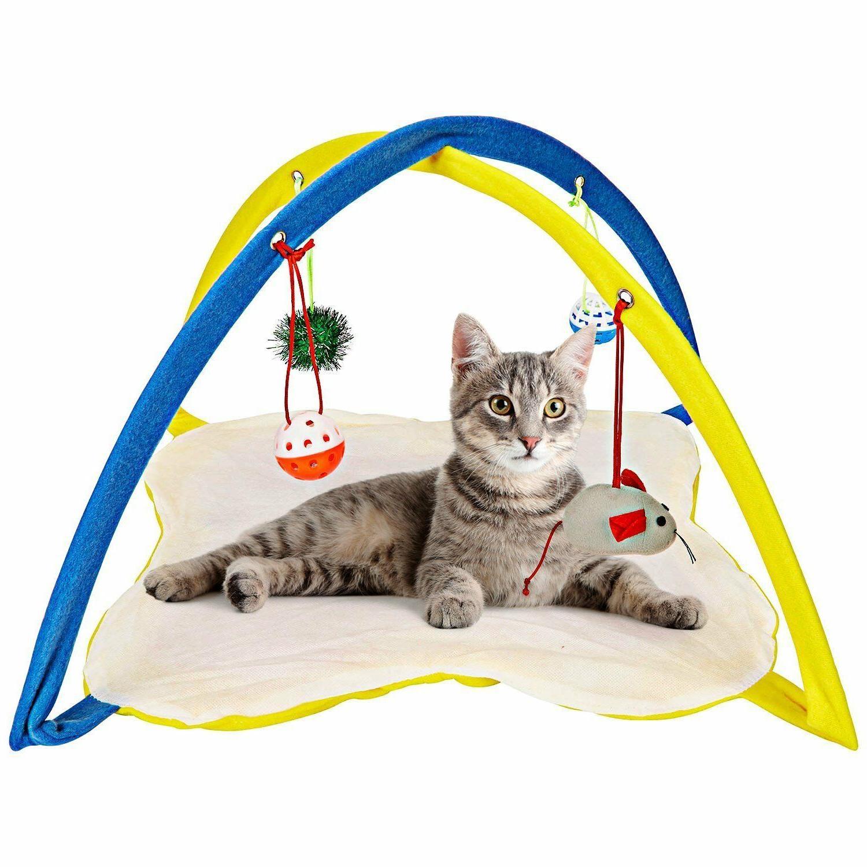 cat play mat cat tent activity center